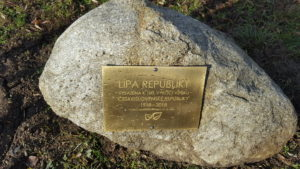 Lípa republiky v Moravských Bránicích